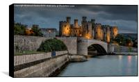 Conwy Castle by Lamplight, Box Print