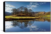 River Brathay Reflections                         , Box Print