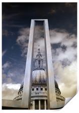 St Pauls Cathedral Digital, Print