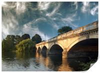 Bridge over the Serpentine , Print