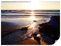 Sunrise Shore, Print