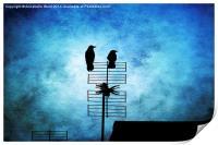 Two Crow Blues, Print