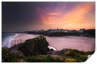 Tenby from St Catherines, Print