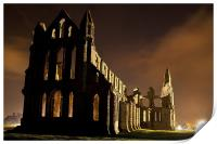 Whitby Abbey, Print