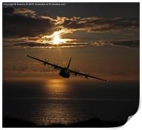 Hercules Sunset, Print