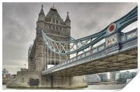 Tower Bridge, London, Print