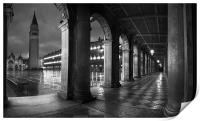 The Arches, St Marks Square, Venice, Print