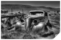 Bodie Ghost Town, Print