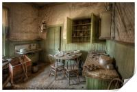 Tom Miller House - Bodie Ghost Town, Print