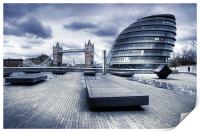 City Hall, London, Print