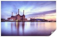 Battersea Power Station, Print