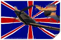 Spitfire, The Night Flight, Print