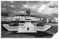 Pride Park Stadium, Print