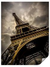 Eiffel Tower, Print