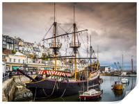 The Golden Hind, Print