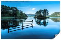 Serene Derwent Water, Print