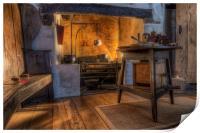 Olde Kitchen, Print