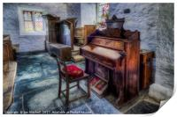 Olde Church Organ , Print