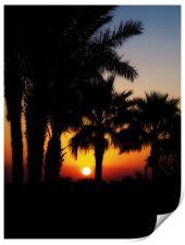 Cyprus Sunrise, Print
