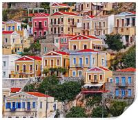 Symi island Greece II, Print