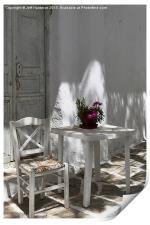 Light and shade Mykonos, Print