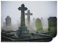 Ethereal Graveyard, Print