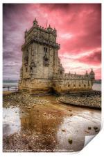 Torre de Belem Lisbon, Print