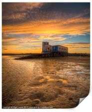 Lifeboat Station Sunset, Print