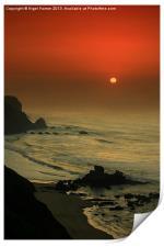Castelejo Beach Sunset, Print