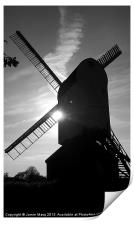 Mountnessing Windmill, Print