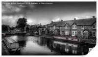 Brecon & Monmouth canal, Print