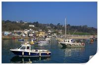 Lyme Regis Harbour from The Cobb, Print
