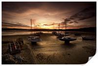 Beadnall Harbour, Print