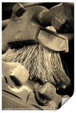 Mill Brush, Print