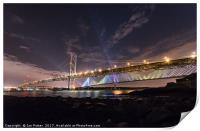 The Queensferry Crossing and the Forth Road Bridge, Print