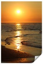 Lossiemouth Sunset, Print