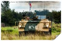 British Armoured Personnel Carrier, Print