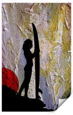 Surfer Girl, Print