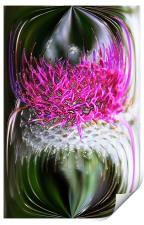 Thistle In Glass, Print