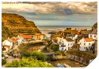 Staithes the popular view, Print