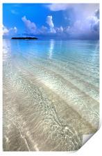 Crystal Water of the Ocean, Print