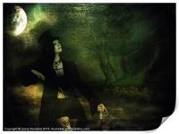 Love Moonlight Song of Vampiress, Print
