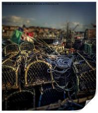 Lobster Pots, Print