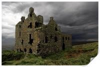 Dunskey castle, Print