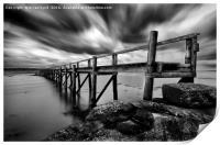 Historic Pier at Culross, Print