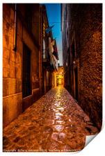 Pollenca street, Print