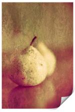 Two Pears Or One Pair, Print