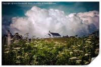 Church of Scotland, Burra, Shetland., Print