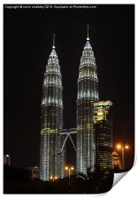 Petronas Towers, Print