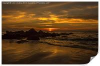 Thai Sunset, Print